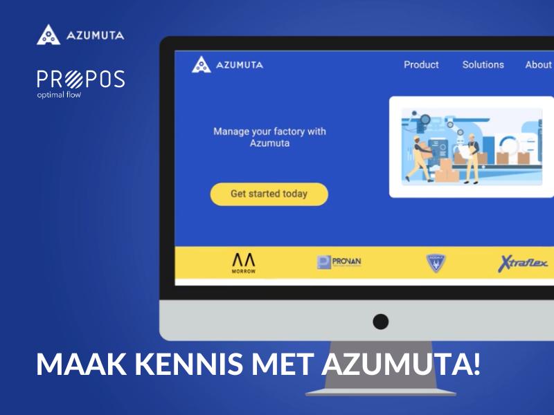 Digitale fabriek met PROPOS en Azumuta: verhoog uw kwaliteit en productiviteit -