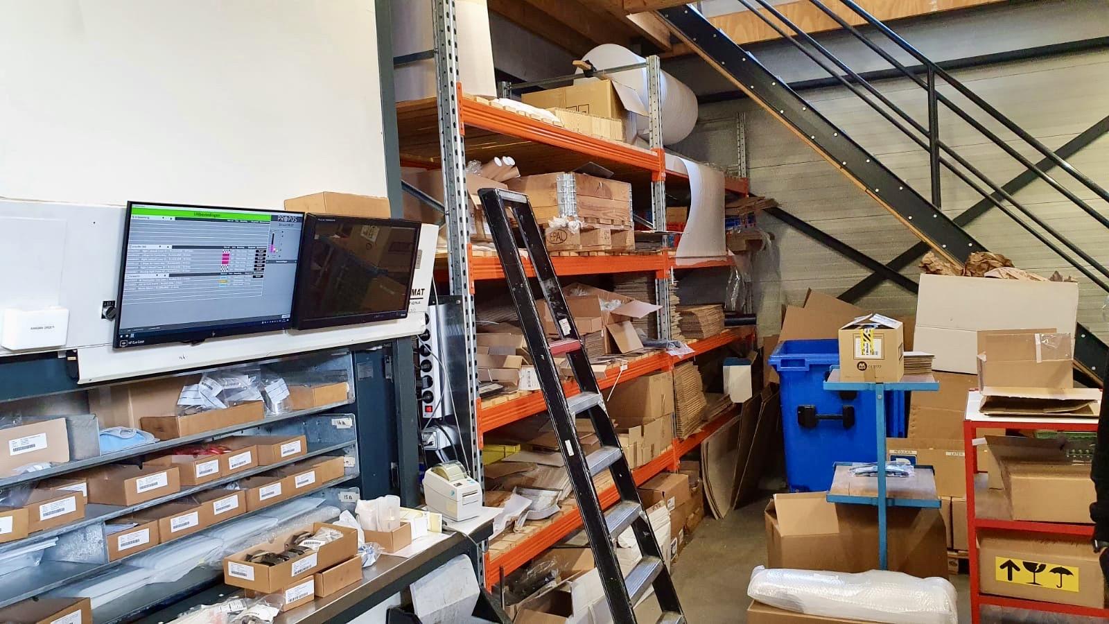 propos shop floor control bij SAM precision mkg-5 voorraad
