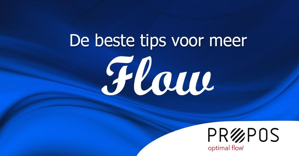 De beste tips voor meer flow-web