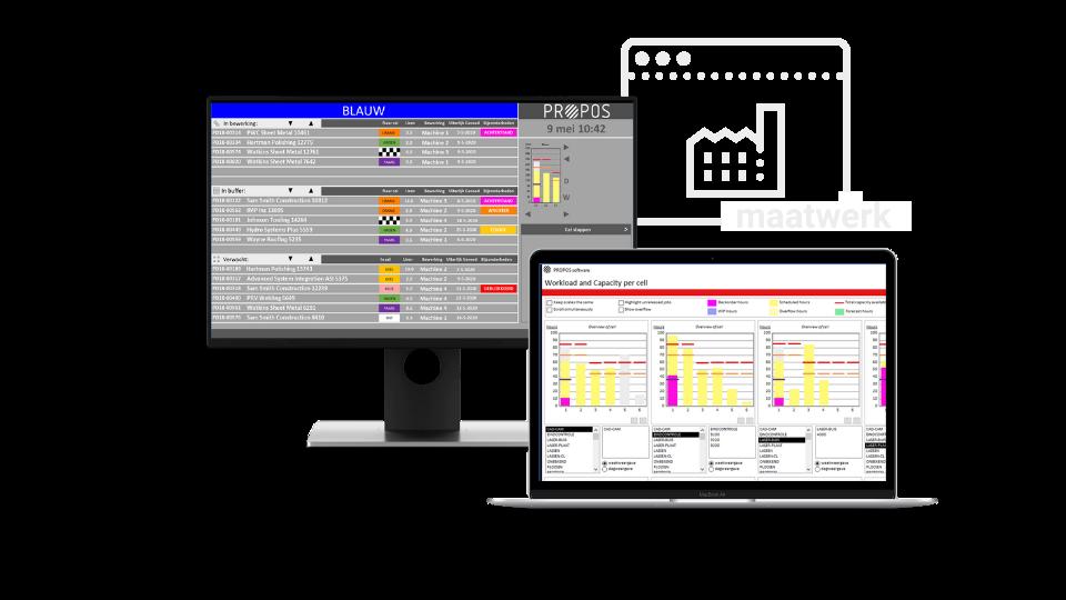 ERP productieplanning maatwerk -