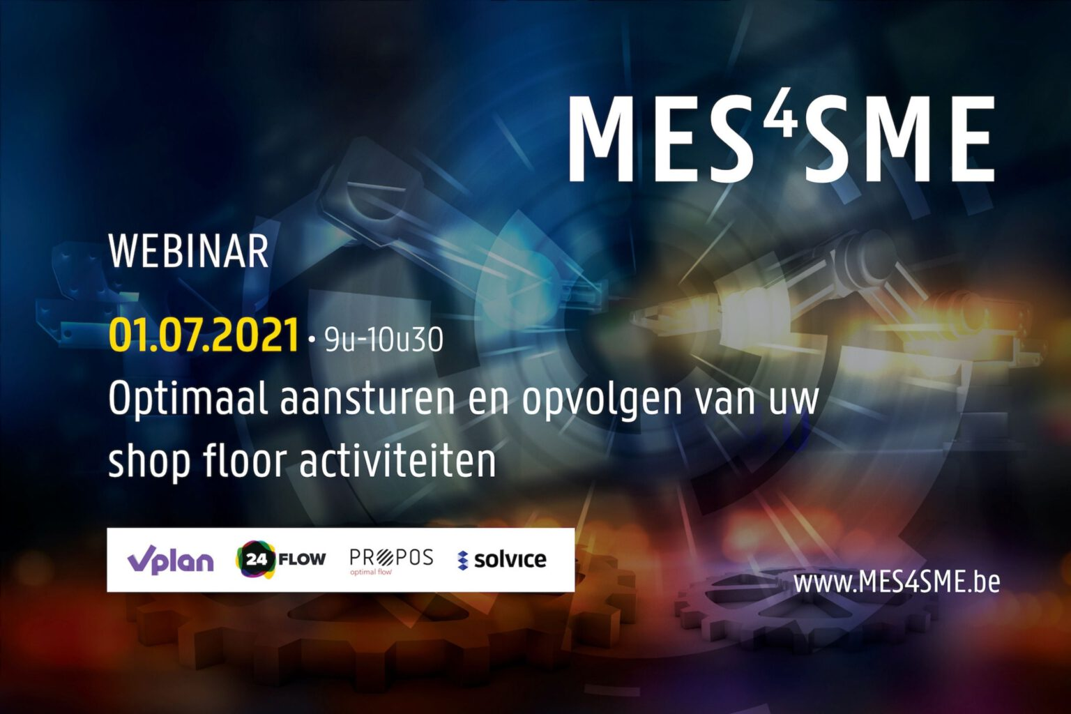 PROPOS op online MES-event voor KMO-bedrijven - bekijk de replay! -