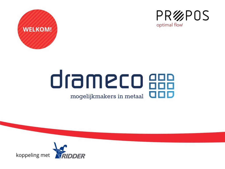 Drameco: meer mogelijk met flow in productie -
