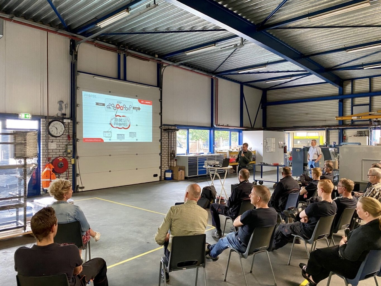 Kick-off bij Duits duurzame machinebouw! -