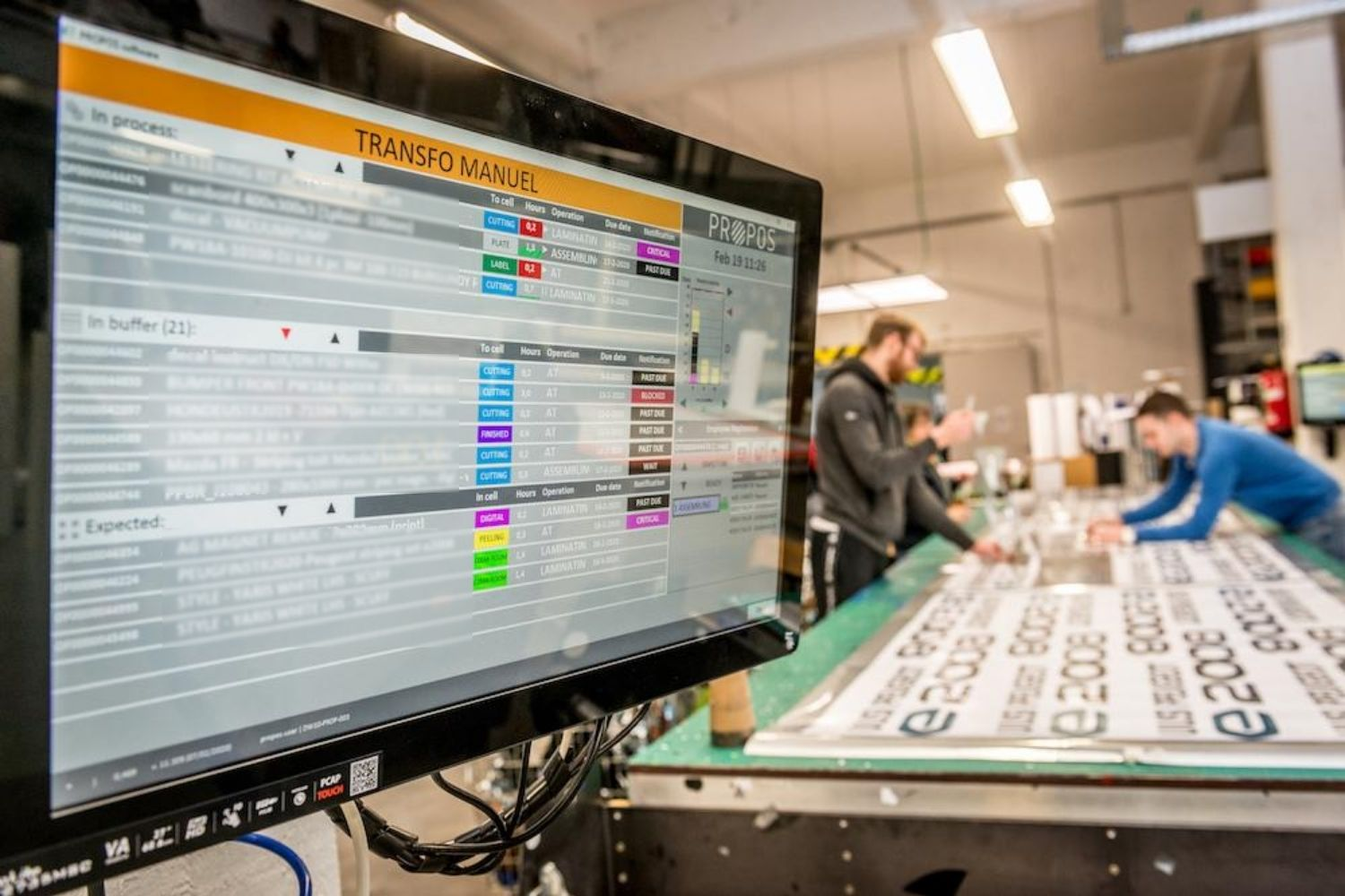 SAM Precision: monitoring van onbemande machines -